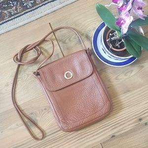 Lamarthe Trotter cognac vintage crossbody bag